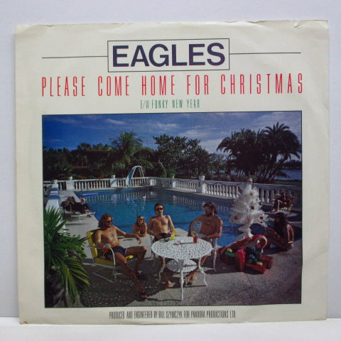 "EAGLES - Please Come Home For Christmas (US 80's Re 7""+PS)"
