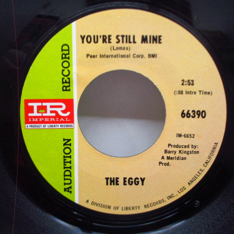 EGGY - You're Still Mine / Hookey (Promo)