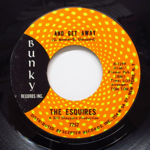 ESQUIRES - And Get Away (Orig)