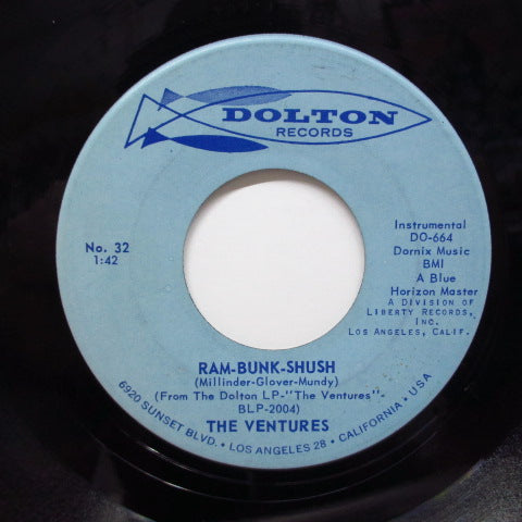 VENTURES - Ram-Bunk-Shush (US Orig.)