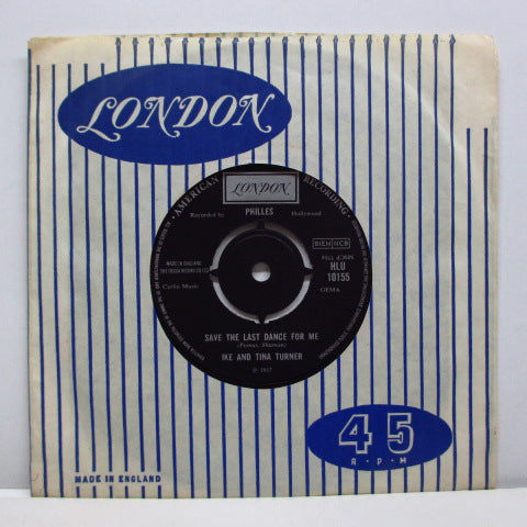 "IKE & TINA TURNER - I'll Never Need More Than This (UK Orig.7""+CS)"