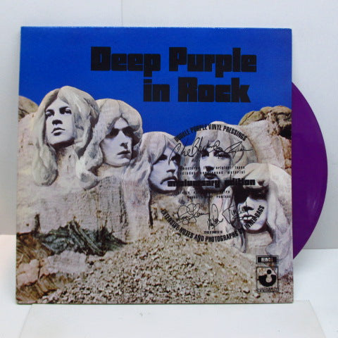 DEEP PURPLE - Deep Purple In Rock (UK 90's Re Purple Vinyl 2xLP)