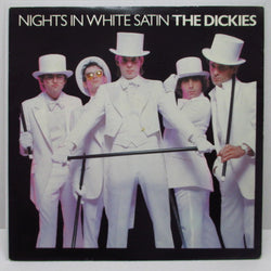 "DICKIES, THE - Nights In White Satin (UK Ltd.White Vinyl 7"")"