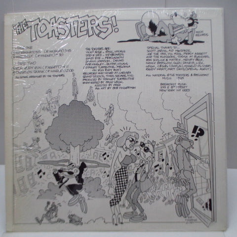 "TOASTERS, THE - Recriminations (US Orig.12"")"