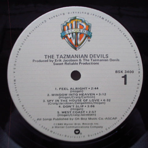 TAZMANIAN DEVILS, THE (タズマニアン・デヴィルズ)  - S.T. (US Orig.LP)