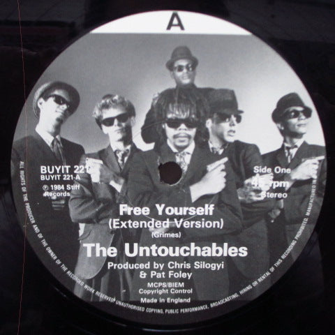 "UNTOUCHABLES, THE - Free Yourself - Extended Version (UK Orig.12"")"