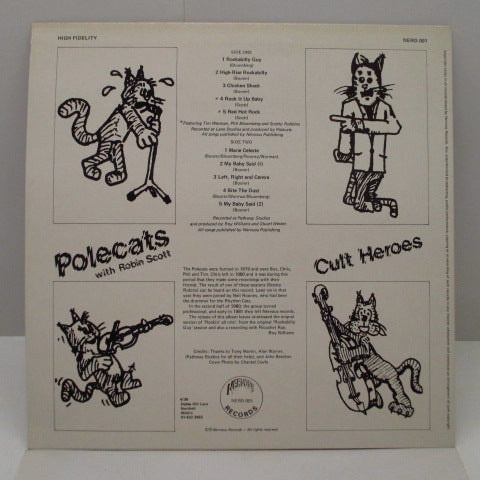 POLECATS - Cult Heroes (UK Orig.LP)