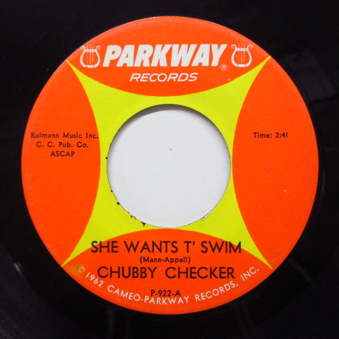 CHUBBY CHECKER - She Wants T'swim (Orig+PS)