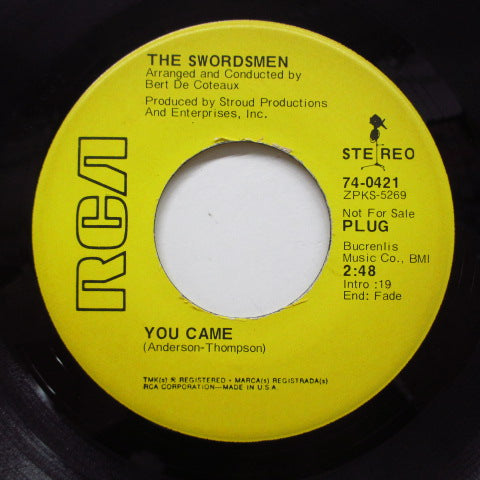 SWORDSMEN - You Came (Promo)