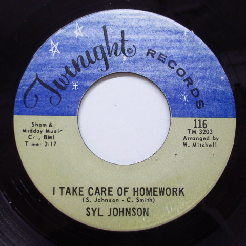 SYL JOHNSON - It Take Care Of Homework (Orig)