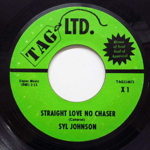 SYL JOHNSON - Straight Love No Chaser (Tag Ltd)