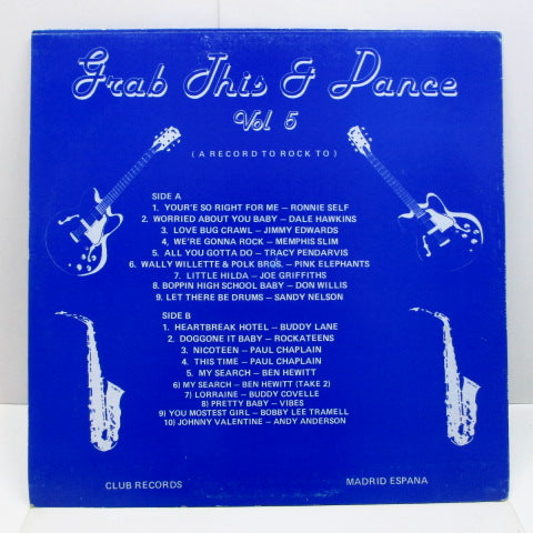 V.A. - Grab This & Dance Vol.5 (UK Test Press LP)