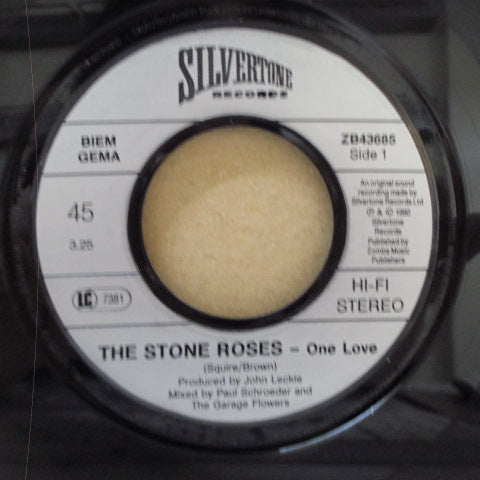 "STONE ROSES, THE - One Love (German Orig.7""+PS/Plastic Lbl.)"