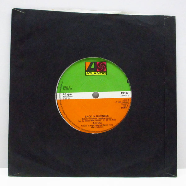 "AC/DC - Danger (UK Orig.7""+Black CS)"