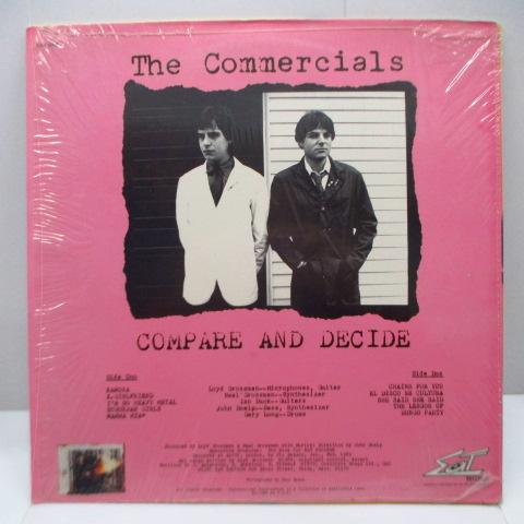 COMMERCIALS, THE (コマーシャルズ)  - Compare And Decide (US Orig.LP)