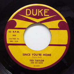 TED TAYLOR - Since You're Home (Orig)