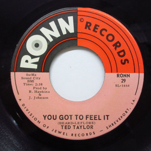 TED TAYLOR - You Got To Feel It (Orig)