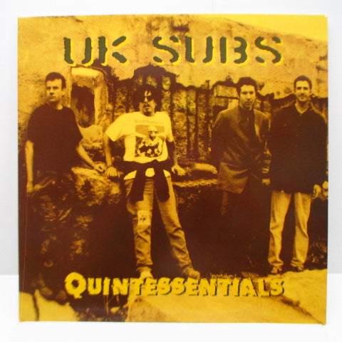 U.K. SUBS - Quintessentials (UK Orig.LP)