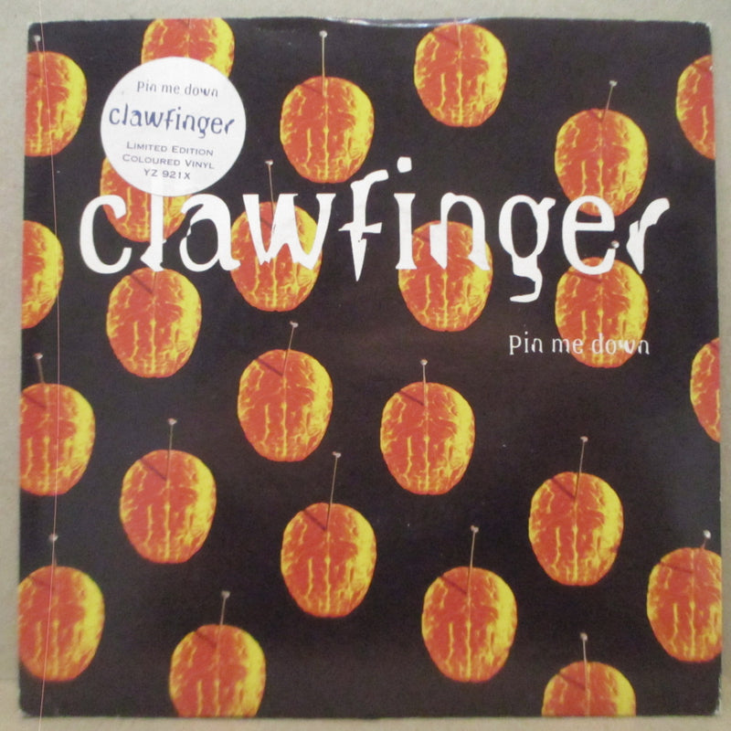 "CLAWFINGER - Pin Me Down (UK Ltd.Blue Vinyl 7""/Stickered CVR)"