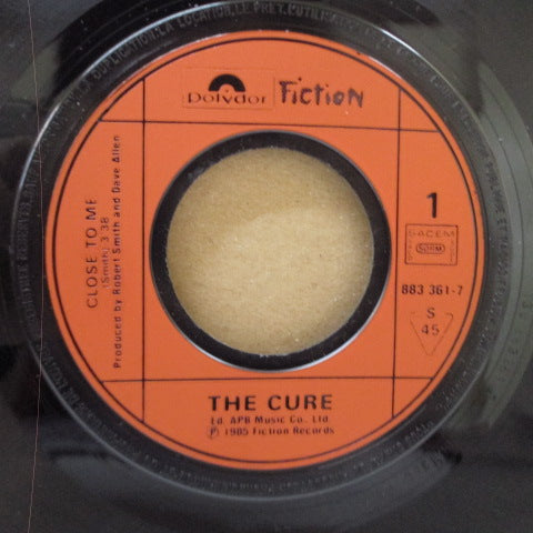 "CURE, THE-Close To Me (France Orig.7 ""+ PS)"
