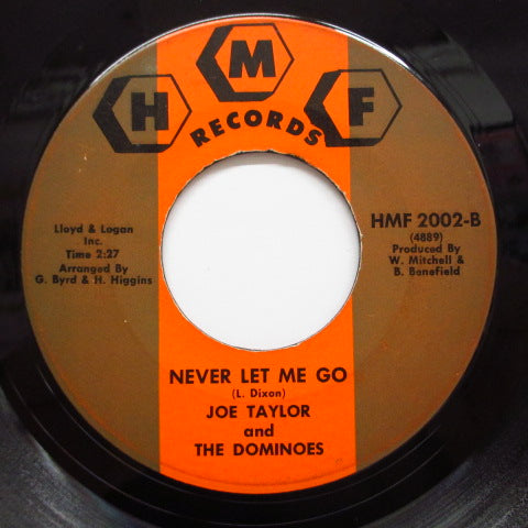 JOE TAYLOR & THE DOMINOES - You Don't Love Me (Orig)