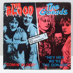 BLOOD, THE / GONADS, THE - South London 5 Hull 4 (UK Orig.LP)