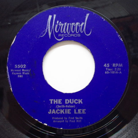 JACKIE LEE - The Duck (Orig.Purple Label)