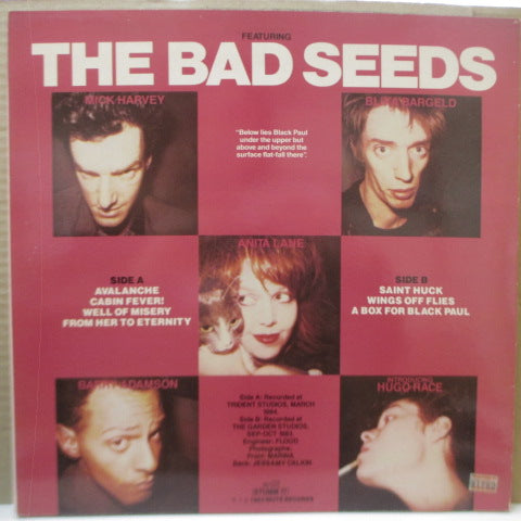 NICK CAVE AND THE BAD SEEDS - From Her To Eternity (UK Orig.LP)