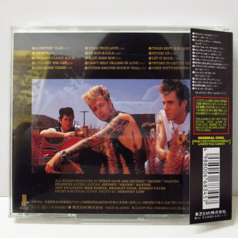 Stray Cats - Original Orig.CD Cool