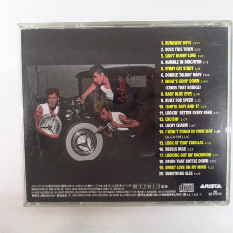 STRAY CATS-Otherwise: The New Selection Of (Japan Orig.CD)