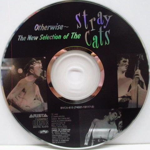 STRAY CATS - Otherwise:The New Selection Of (Japan Orig.CD)