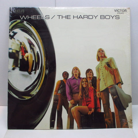 HARDY BOYS - Wheels (US Orig.LP/Seald)