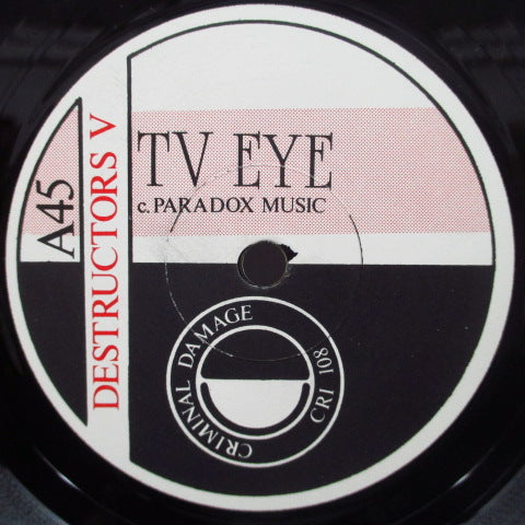 "DESTRUCTORS - T.V. Eye (UK Orig.7"")"