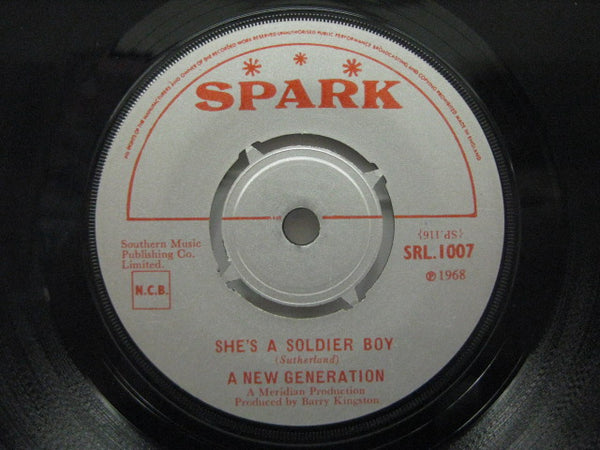 A NEW GENERATION - She's A Soldier Boy / Smokey Blues Away