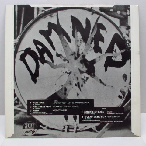 "DAMNED, THE - New Rose (UK Re 12""/BUYIT-238 & BUYIT-6)"
