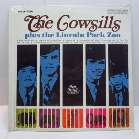 COWSILLS / LINCOLN  PARK ZOO  - The Cowsills Plus The Lincoln Park Zoo (US Orig.Stereo LP)