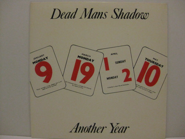 "DEADMANS SHADOW - Another Year (UK Orig.7"")"