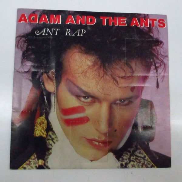 "ADAM AND THE ANTS - Ant Rap (Dutch Orig.7""+Window PS))"