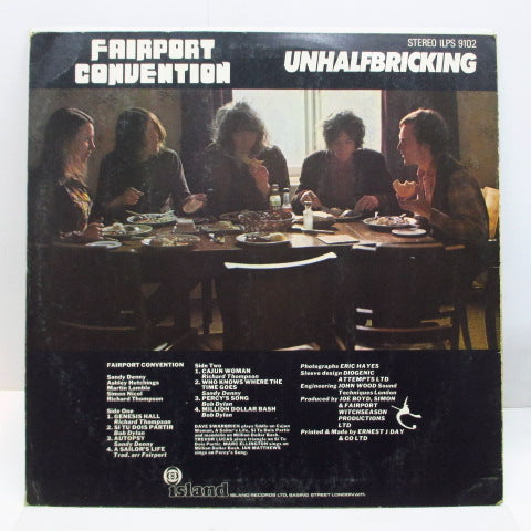 FAIRPORT CONVENTION - Unhalfbricking (UK Orig.Stereo)