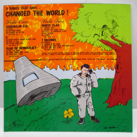 V.A. - 5 Bands That Have...Changed The World (German Orig.LP)