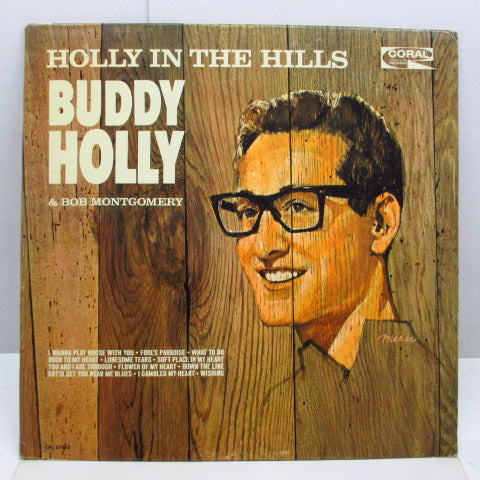 BUDDY HOLLY - Holly In The Hills (US Orig.Mono LP)