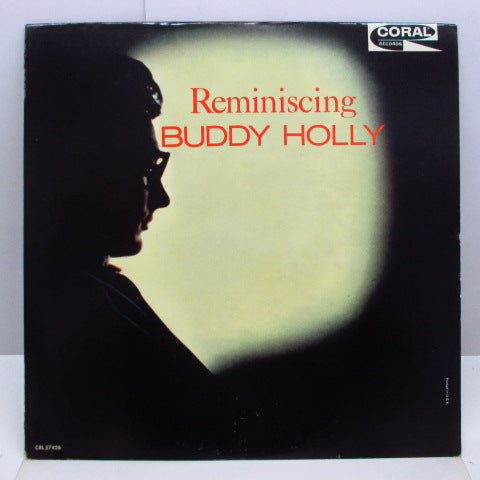 BUDDY HOLLY - Reminiscing (US 2nd Press Mono LP)