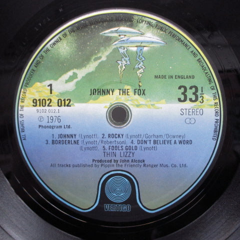THIN LIZZY - Johnny The Fox (UK:Orig.)