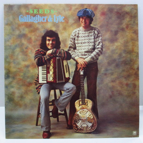 GALLAGHER & LYLE - Seeds (3rd) (UK Orig.LP)
