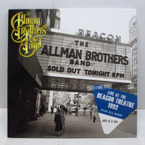 ALLMAN BROTHERS BAND - Selections From Play All Night: Live At The Beacon Theatre 1992 (EU 2xLP)