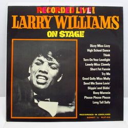 LARRY WILLIAMS - Larry Williams On Stage! (Sweden 60's Re Mono LP/CS)