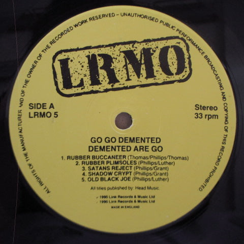 DEMENTED ARE GO - Go Go Demented (UK Orig.Black Vinyl LP)