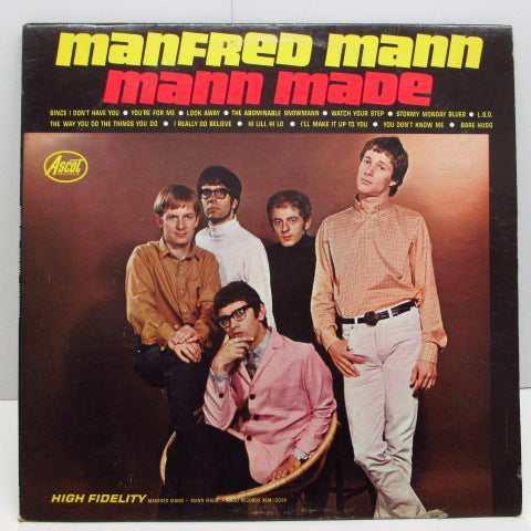 MANFRED MANN - Mann Made (US:Orig.MONO)