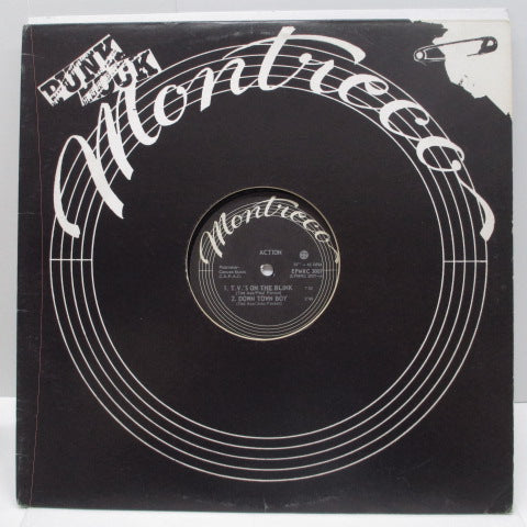 "ACTION, THE - T.V.'s On The Blink (Canada Orig.12"")"