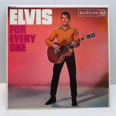ELVIS PRESLEY - Elvis For Everyone (UK Orig.Mono LP/CFS)
